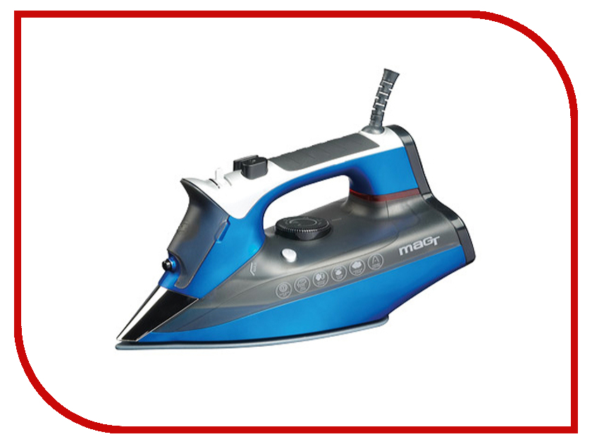 Утюг Magtek Mag 2301MT Blue mag 135 invertor