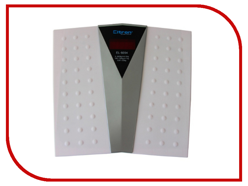 Весы напольные Eltron EL-9204 весы eltron весы электронные