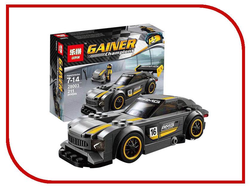 Конструктор Lepin Gainer Champions Mercedes-AMG GT3 211 дет. 28003 amg mercedes c class dtm 2008 с двигателем г киев