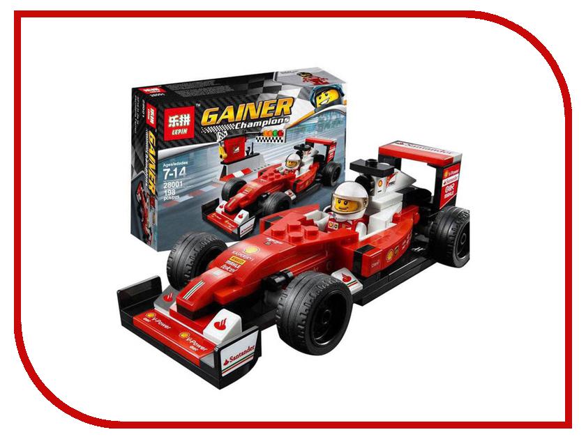 Конструктор Lepin Scuderia Ferrari SF16-H 198 дет. 28001 мезороллеры beauty shine мезороллер beauty shine 540 игл 0 2 мм