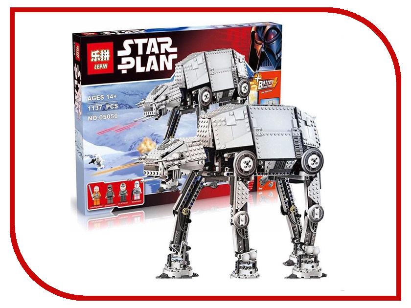Конструктор Lepin Star Plan Бронированный Шагоход AT-AT 1137 дет. 05050 конструктор lepin star plan стрела 800 дет 05113