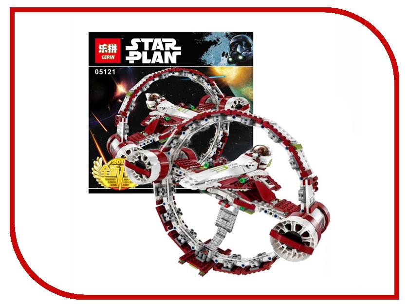 Конструктор Lepin Star Plan Звёздный истребитель джедаев с гипердвигателем 845 дет. 05121 конструктор lepin star plan стрела 800 дет 05113