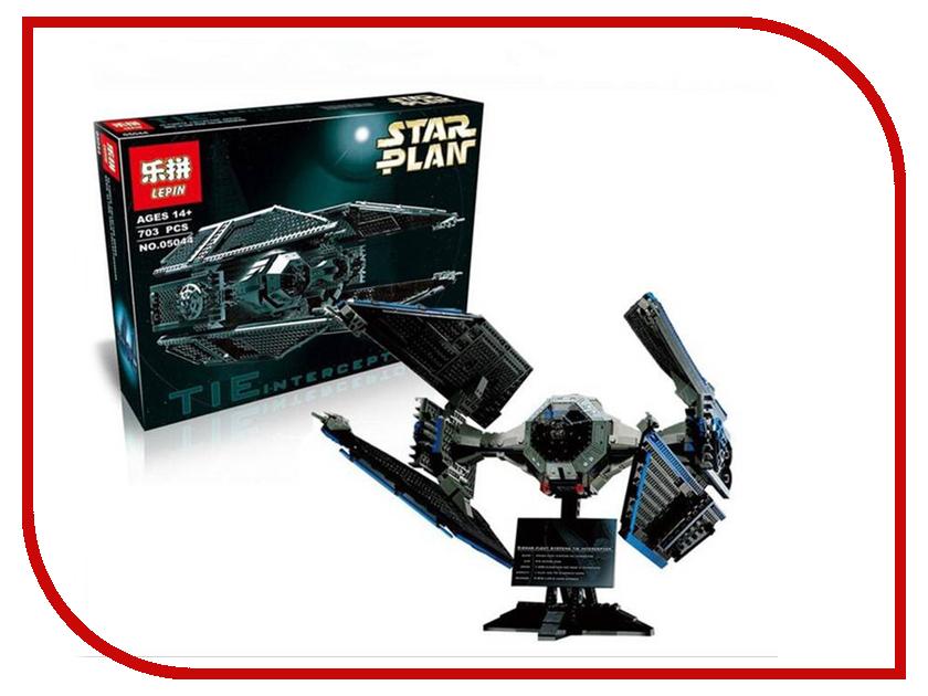 Конструктор Lepin Star Plan Истребитель TIE Interceptor 703 дет. 05044 конструктор lepin star plan стрела 800 дет 05113