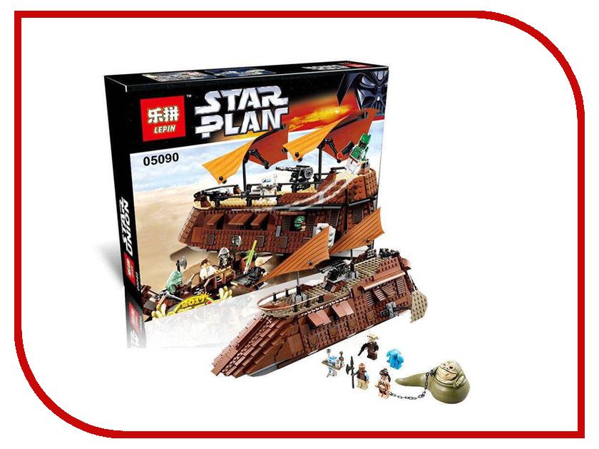 Конструктор Lepin Star Plan Пустынный корабль Джаббы 821 дет. 05090 конструктор lepin star plan стрела 800 дет 05113