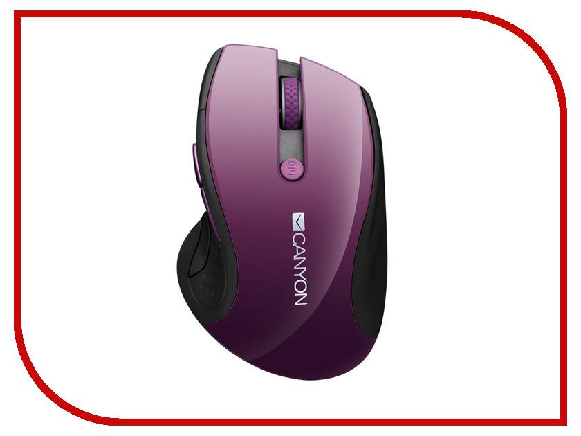 Мышь Canyon CNS-CMSW01P Purple Pearl наушники canyon fashion earphones cns cep01p purple