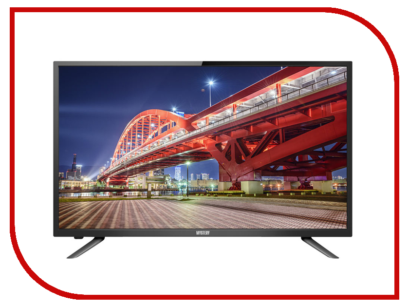 Телевизор Mystery MTV-3227LT2 led телевизор mystery mtv 4331lta2 black