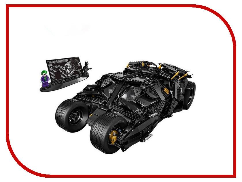 Конструктор Lepin Super Escort Бэтмобиль The Tumbler 1969 дет. 07060 конструктор lepin super escort тёмный дворец эклипсо 1093 дет 29010