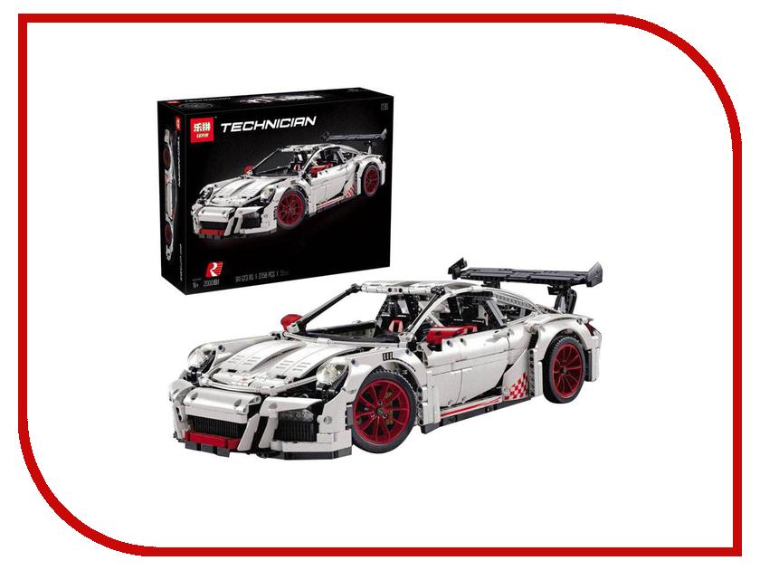 Конструктор Lepin Techini Porsche 911 GT3 RS 2704 дет. 20001B конструктор lepin спортивный лагерь дом на дереве 784 дет 01047