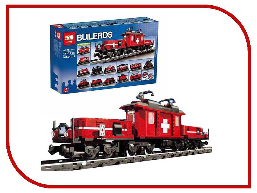Конструктор Lepin Bulerds Hobby Trains Set 1130 дет. 21011