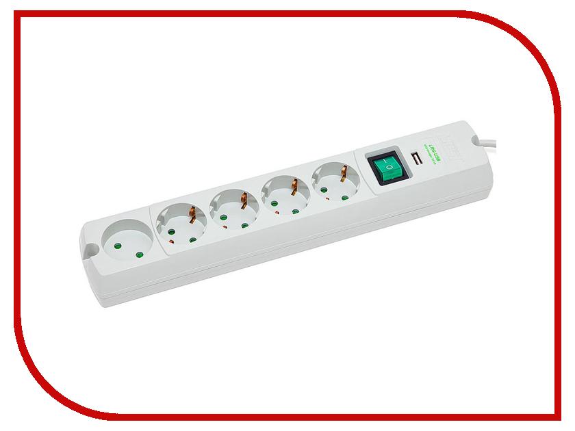 купить Сетевой фильтр Most LRG 6 Sockets 1.6m White недорого
