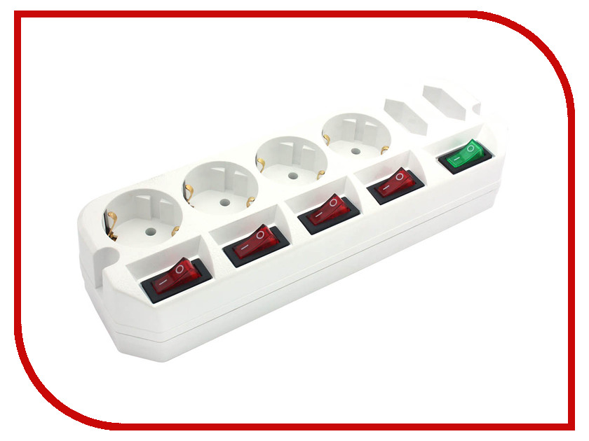 Сетевой фильтр Most A10 6 Sockets 3m White удлинитель rexant optima 3 sockets 7m white 11 2267