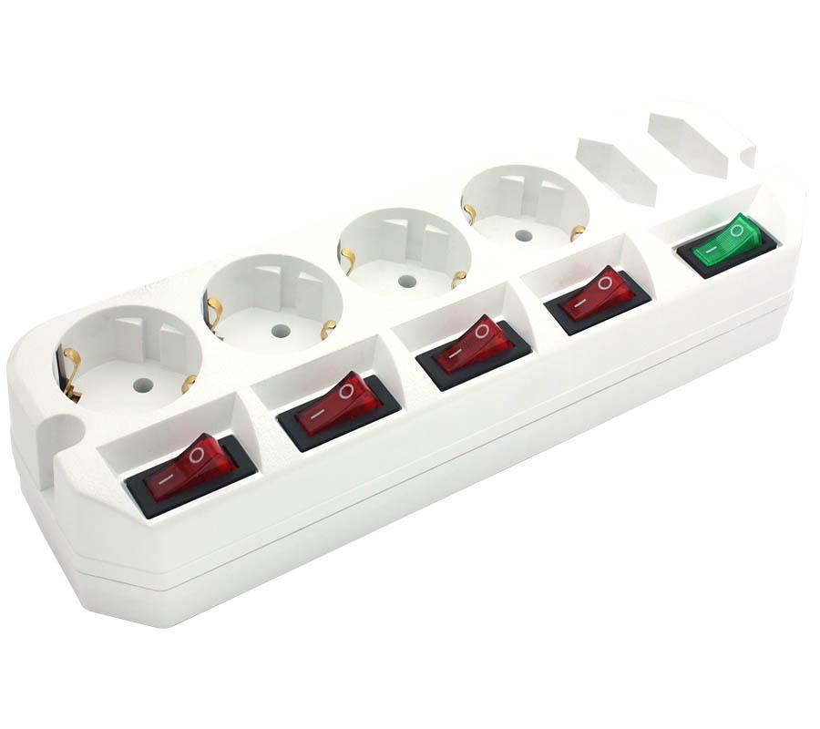 Сетевой фильтр Most A10 6 Sockets 3m White цена и фото