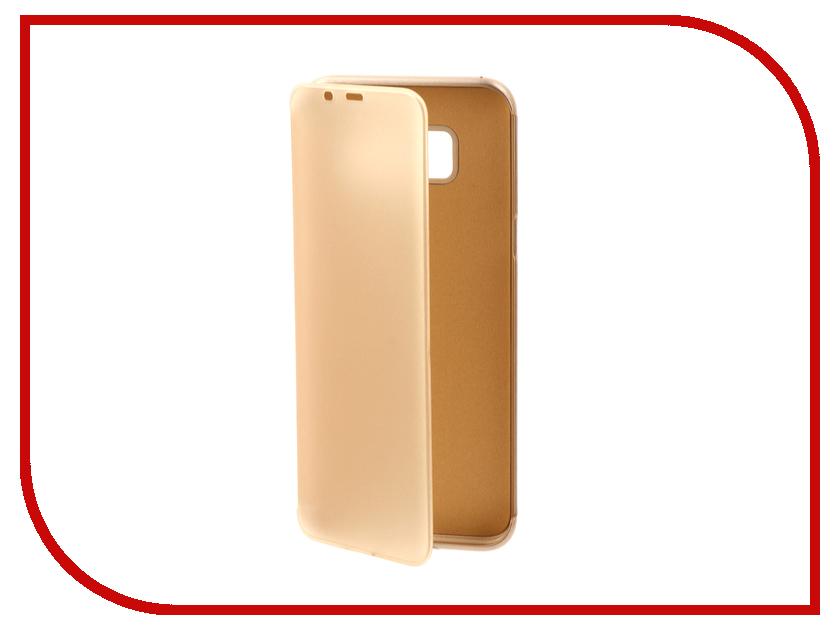 Аксессуар Чехол Samsung Galaxy S8 Plus Ainy матовый боковой Gold оригинальный samsung galaxy s8 s8 plus nillkin 3d ap pro полноэкранный экранный протектор экрана