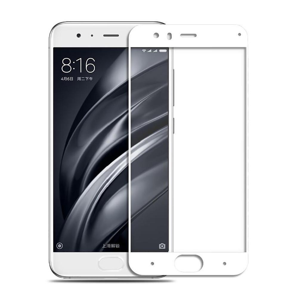 Аксессуар Защитное стекло Ainy для Xiaomi Mi6 Full Screen Cover 0.33mm White цены