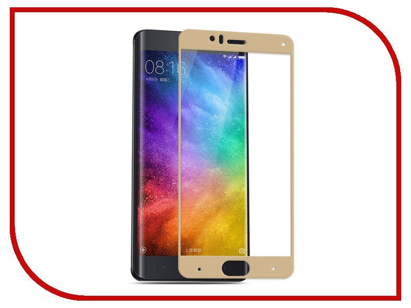 Аксессуар Защитное стекло Xiaomi Mi6 Ainy Full Screen Cover 0.33mm Gold