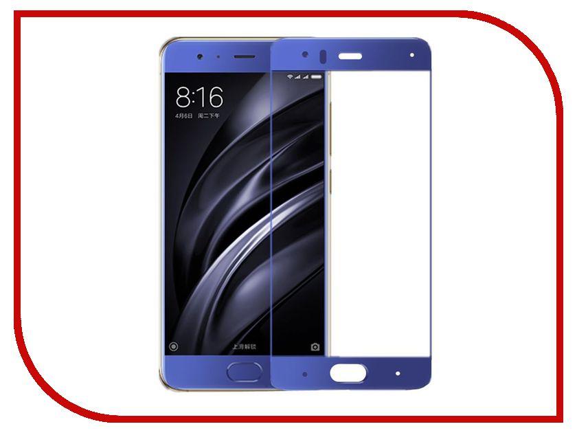 Аксессуар Защитное стекло Xiaomi Mi6 Ainy Full Screen Cover 0.33mm Blue аксессуар чехол xiaomi mi6 brosco silicone black xm mi6 tpu black