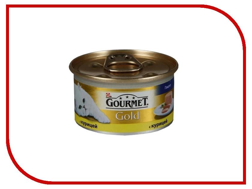 Корм Gourmet Gold Курица Паштет 85g для кошек 61697