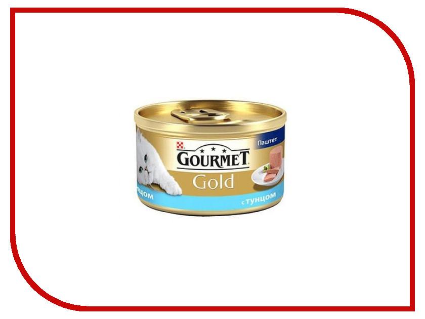 Корм Gourmet Gold Тунец Паштет 85g для кошек 61722