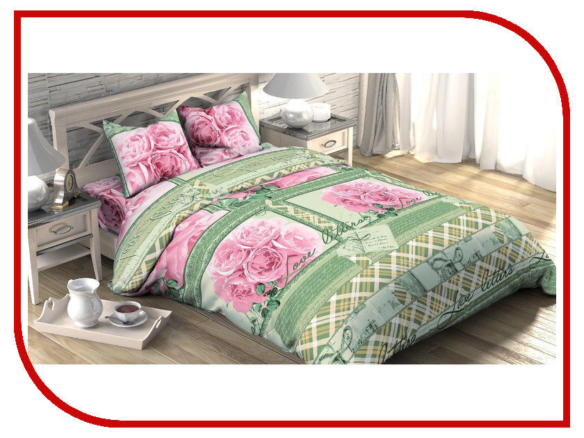 Постельное белье Этель Дора Комплект 2 спальный Бязь 1652771 постельное белье гербарий бежевый gs бязь 2 спальный
