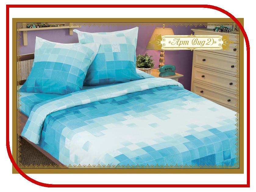 Постельное белье Этель Арт вид 2 Комплект 2 спальный Бязь 1240633 постельное белье гербарий бежевый gs бязь 2 спальный