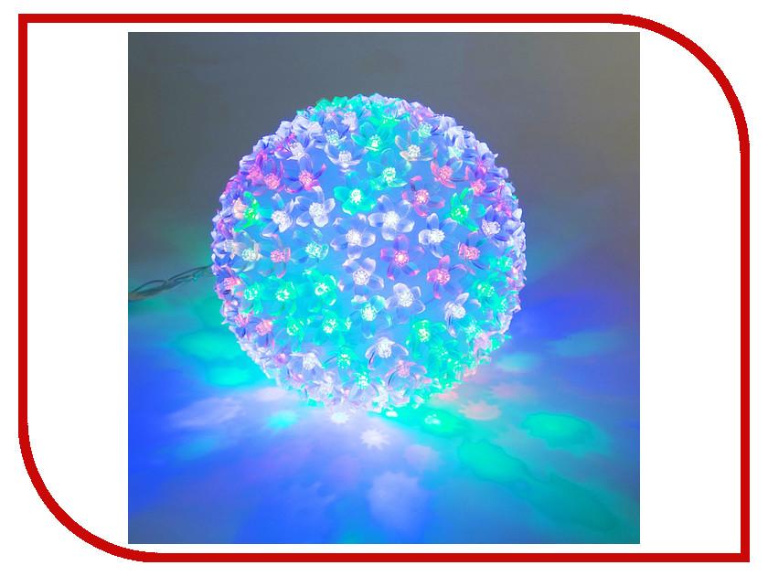 Гирлянда Luazon Шар из цветов 2314982 гирлянда luazon дождь 2m 1 5m multicolor 671638