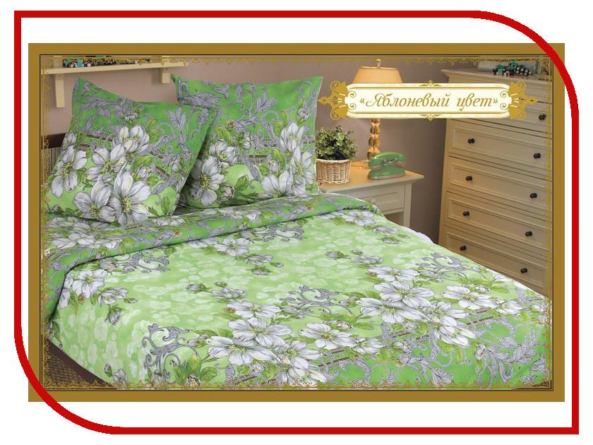 где купить Постельное белье Этель Яблоневый цвет Комплект 2 спальный Бязь 1117639 по лучшей цене