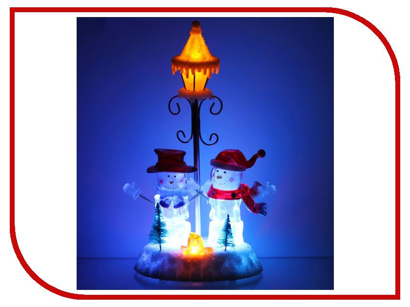 Новогодний сувенир Luazon Фонарь и два снеговика 1353363
