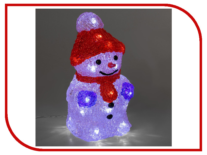 Новогодний сувенир Luazon Снеговичок 2310856 новогодний сувенир luazon дед мороз под елкой 1353359