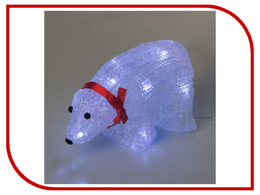 Новогодний сувенир Luazon Медвежонок 2315206 гирлянда luazon дождь 2m 6m multicolor 671678