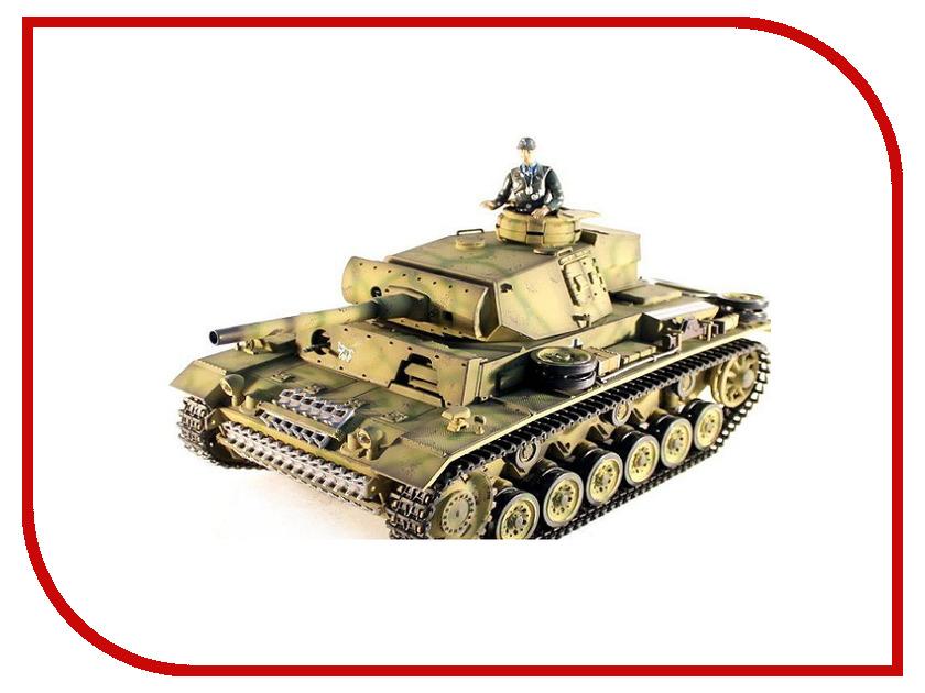Игрушка Taigen Panzerkampfwagen III TG3848-1A радиоуправляемый танк taigen panzerkampfwagen iv ausf hc pro масштаб 1 16 2 4g