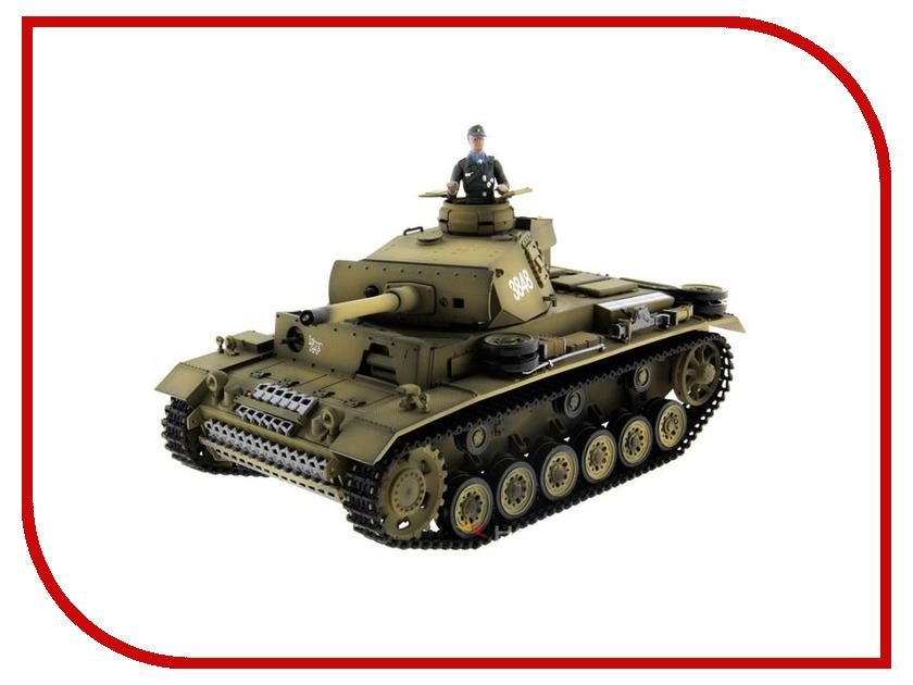 Игрушка Taigen Panzerkampfwagen III PRO TG3848-1A-IR радиоуправляемый танк taigen panzerkampfwagen iv ausf hc pro масштаб 1 16 2 4g