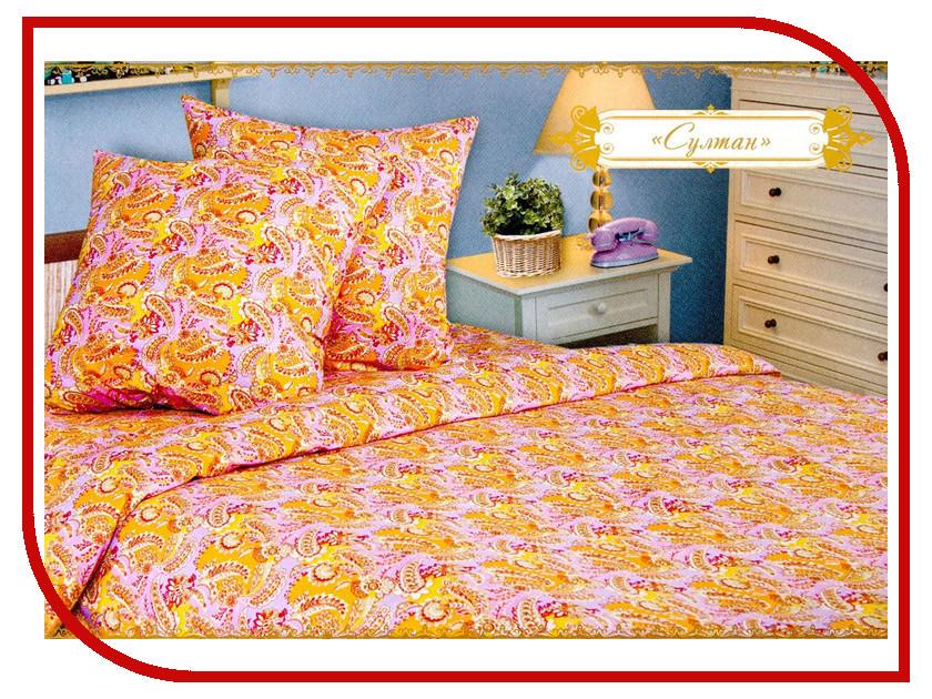 Постельное белье Этель Султан Комплект 2 спальный Бязь 1264581
