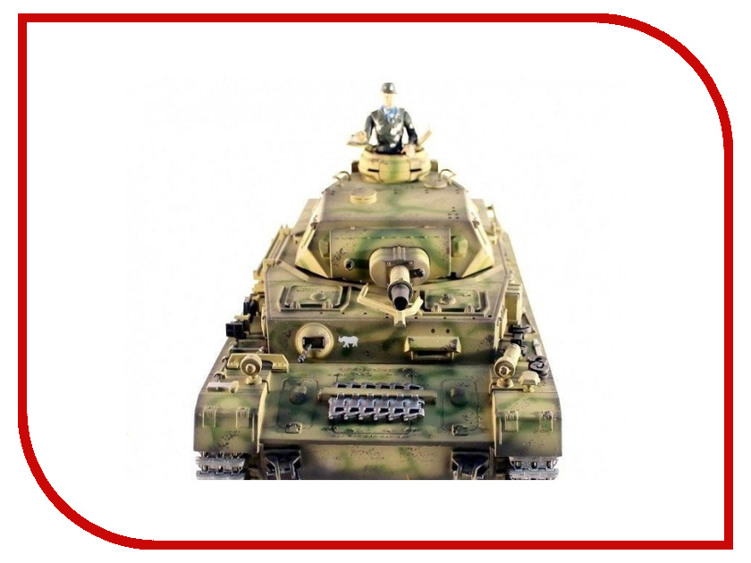 Игрушка Taigen Dak Panzerkampfwagen IV Ausf F-1 HC RTR TG3858-1HC радиоуправляемый танк taigen panzerkampfwagen iv ausf hc pro масштаб 1 16 2 4g