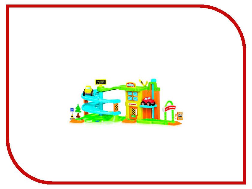 Автотрек Dolu Гараж с треком DL-5152 очиститель автокондиционера step up sp 5152 пенный 510 гр