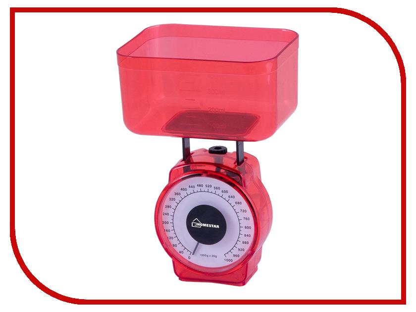 Весы Homestar HS-3004M Red