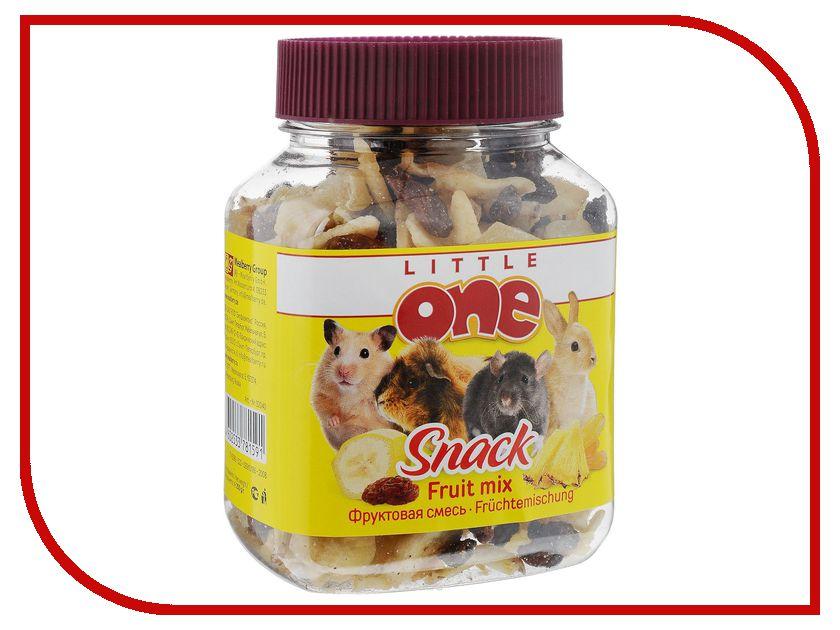 Little One Фруктовая смесь 200g для грызунов 19520 джой смесь фруктовая цукаты клюквы арахис 50 г