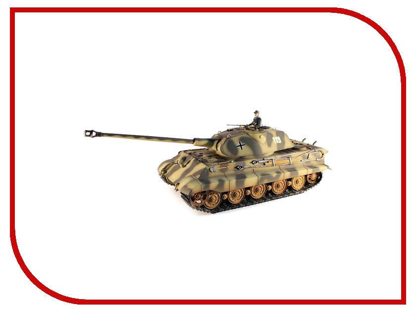 Игрушка Taigen King Tiger HC TG3888-1HC-IR радиоуправляемый танк taigen panzerkampfwagen iv ausf hc pro масштаб 1 16 2 4g