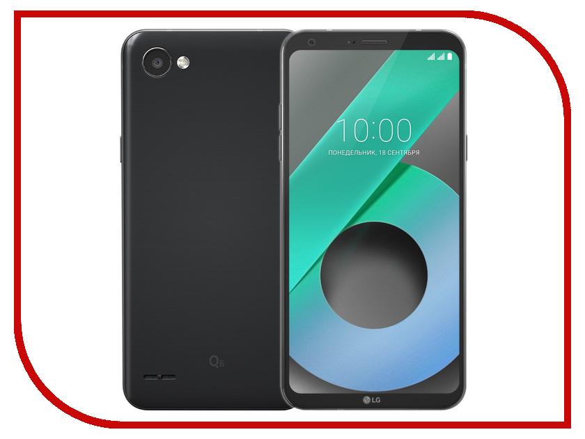 Сотовый телефон LG Q6 M700AN Black-Black пылесос lg vc53202nhtr