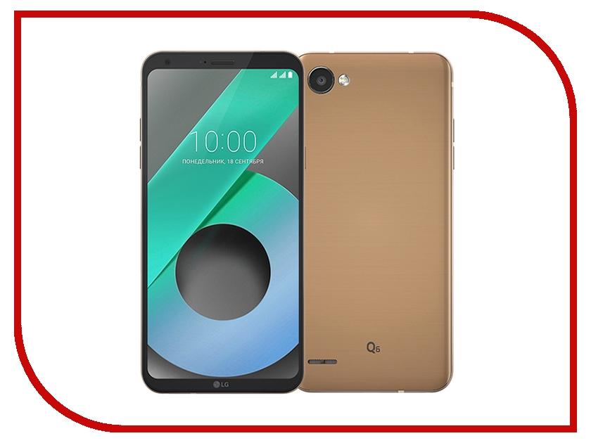 Сотовый телефон LG M700AN Q6 32Gb Black-Gold vivitek qimi q6 gold