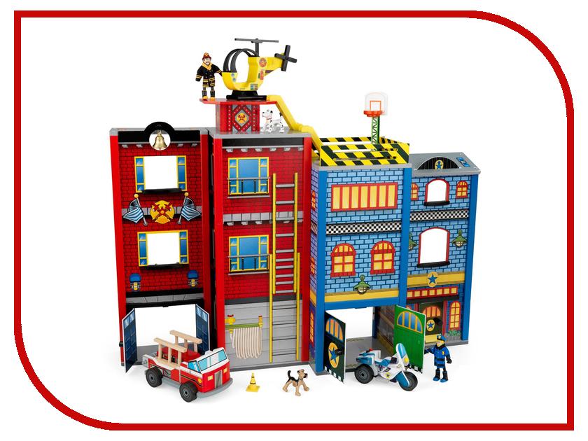 Игра Kidkraft Здание спасательной службы 63239-KE игровойнабор для кухни капкейки kidkraft