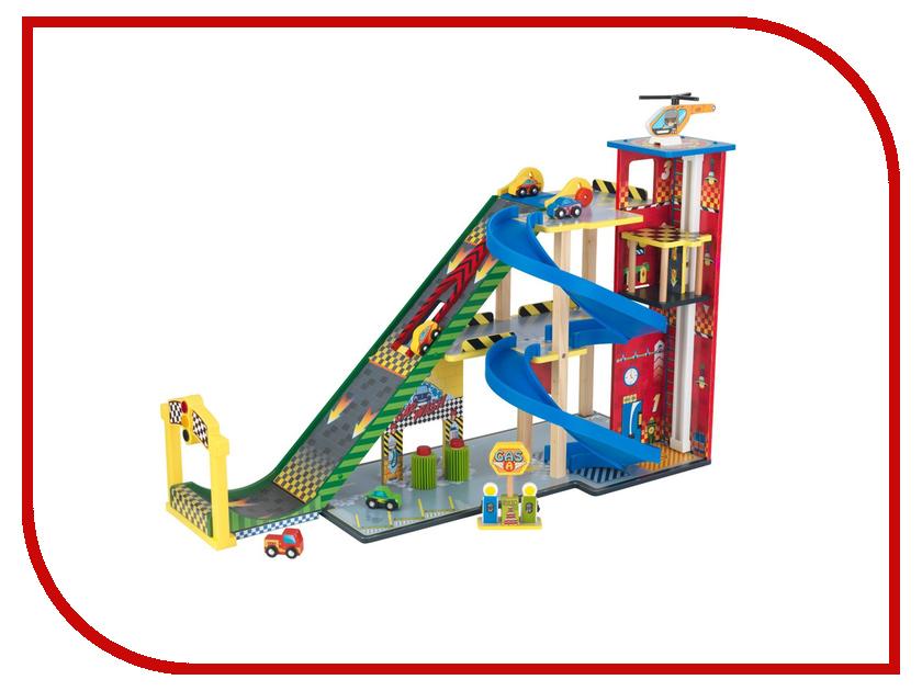 Автотрек Kidkraft Гонки мега спуск 63267-KE кровати детские kidkraft кровать sleigh
