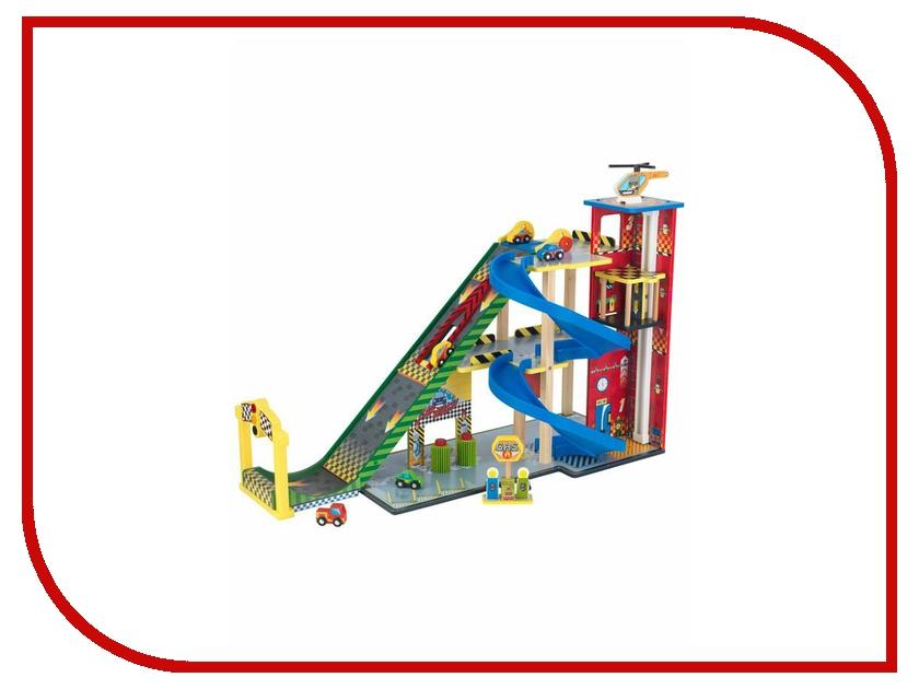 Автотрек Kidkraft Паркинг Делюкс 17481-KE игровойнабор для кухни капкейки kidkraft