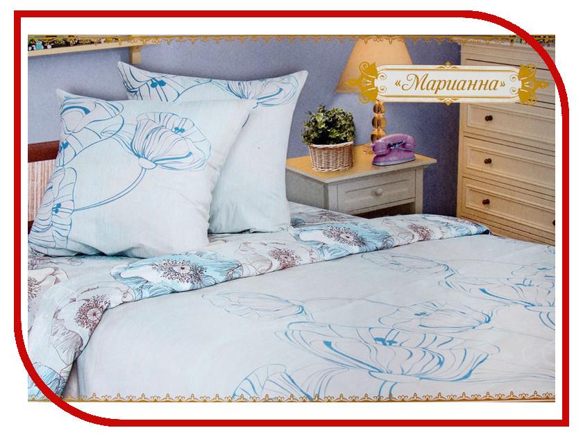 Постельное белье Этель Марианна Комплект 2 спальный Бязь 1267037 комплект 2 спальный шанхай бязь