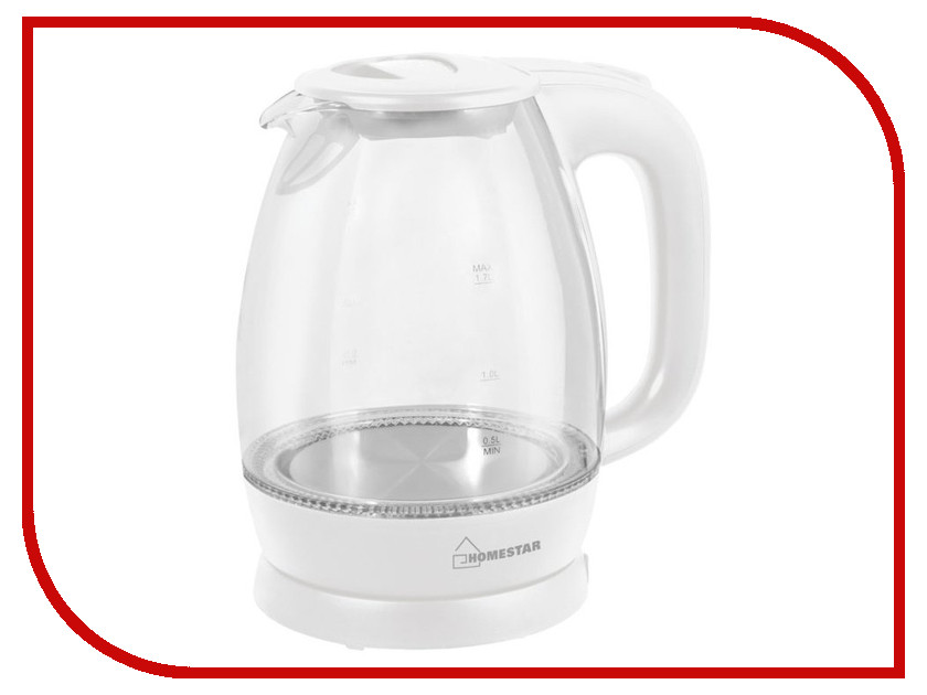 Чайник Homestar HS-1012 White цена