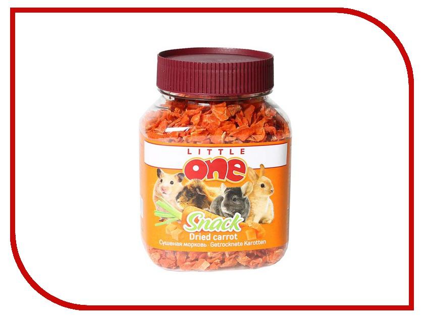 Little One Сушёная морковь 200g для грызунов 19521 любовь морковь