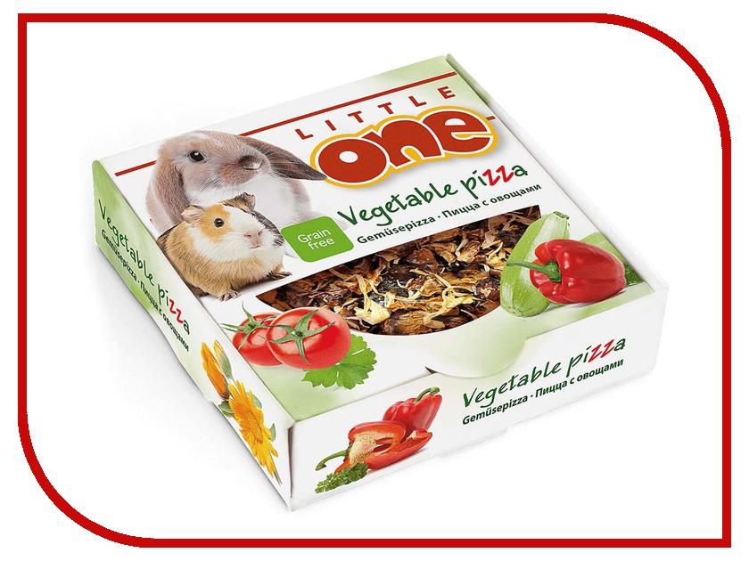 Little One Пицца с овощами 55g для всех видов грызунов 59002 купить бутылки декоративные с овощами