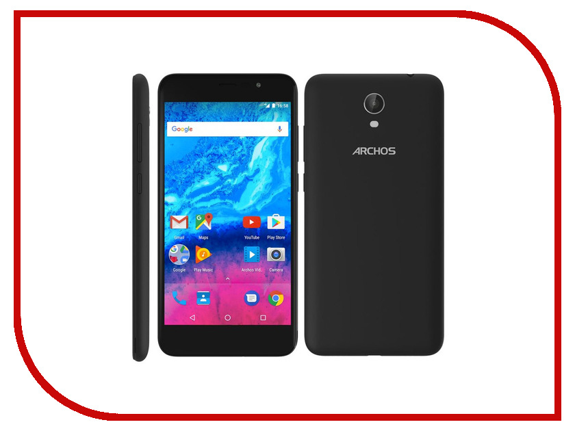 Сотовый телефон Archos Core 55 4G 503419 unlocked netger 4g 150mbps sierra wireless router aircard 770s 4g lte mobile wifi hotspot dongle 4g pocket wifi