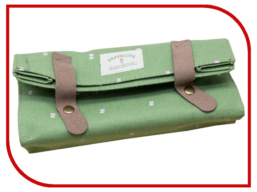 Канцелярский набор Сумочка Megamind Travellife С1240 Green плащ дождевик megamind m5870 little sweet р l green