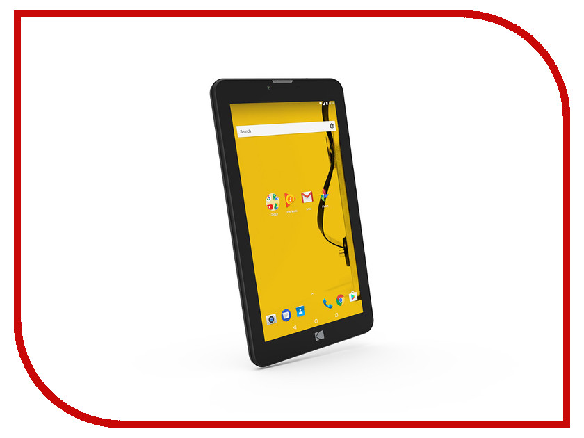 Планшет Kodak Tablet 7 16Gb 503457 (Mediatek MTK8321 1.3 GHz/1024Mb/16Gb/Wi-Fi/3G/Bluetooth/GPS/Cam/7.0/1024x600/Android) планшет lenovo tab 4 tb 7304x za330039ru black mediatek mt8735d 1 3 ghz 1024mb 16gb gps wi fi bluetooth cam 7 0 1024x600 android