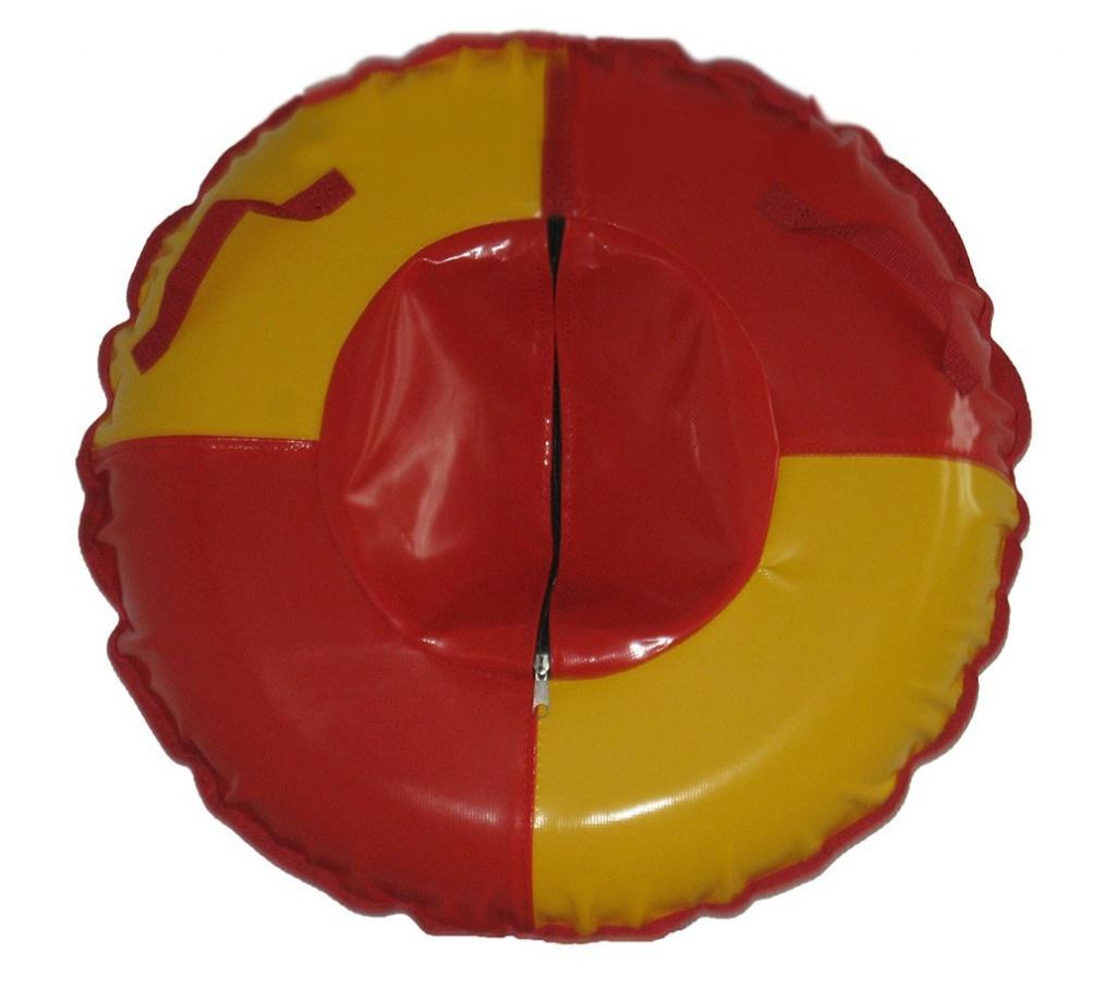 Тюбинг Формула зима Вихрь 100 Red-Yellow 55017-2